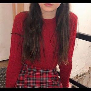 Brandy Melville Olsen sweater